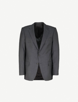 GIEVES & HAWKES Regular-fit wool blazer