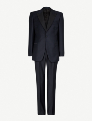 GIEVES & HAWKES Regular-fit wool dinner suit