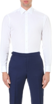 GIEVES & HAWKES Tailored-fit cotton shirt