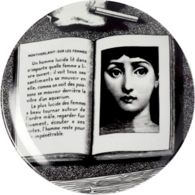 FORNASETTI Wall plate 26cm