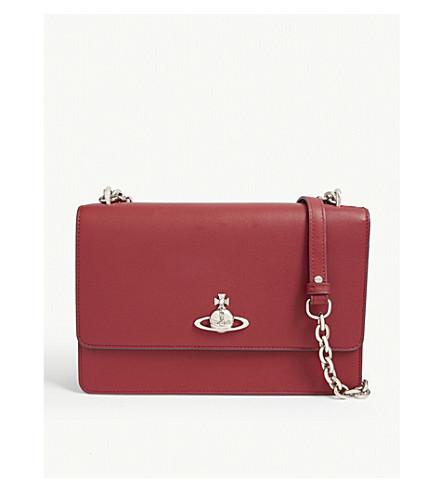 Vivienne Westwood Florence large leather shoulder bag