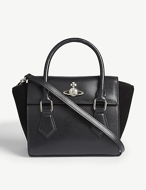 VIVIENNE WESTWOOD Matilda small leather shoulder bag 6351dafe619ed