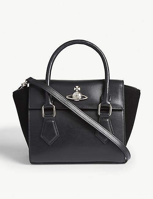 efe38a9dd42b VIVIENNE WESTWOOD Matilda small leather shoulder bag