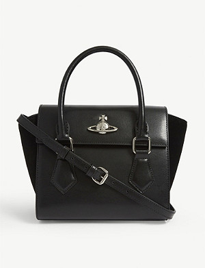 VIVIENNE WESTWOOD Matilda small leather shoulder bag