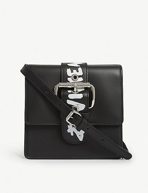 VIVIENNE WESTWOOD Alex leather small cross-body bag