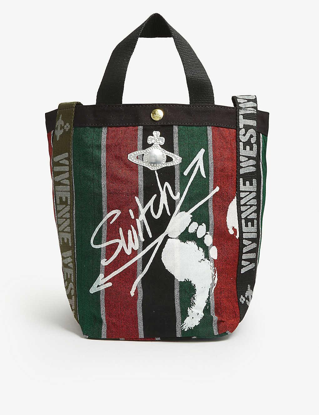 0e444abfa63 VIVIENNE WESTWOOD - Runner canvas tote bag | Selfridges.com