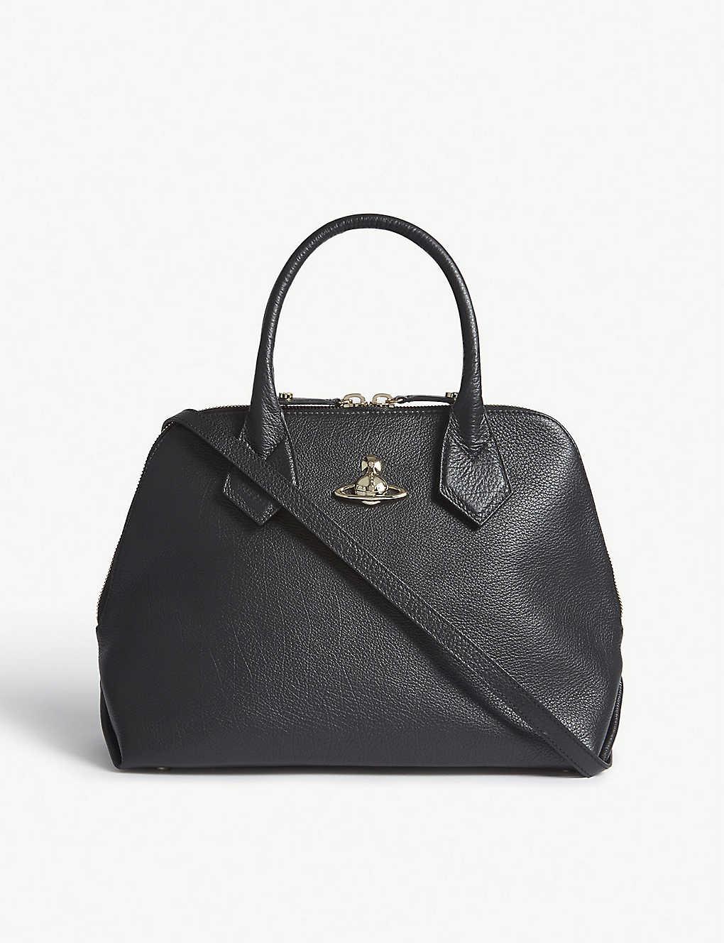 e2d9ec5d1a VIVIENNE WESTWOOD - Balmoral leather tote | Selfridges.com
