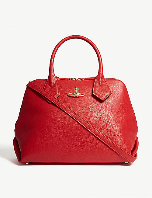 VIVIENNE WESTWOOD Balmoral leather tote bag fa888df730a61