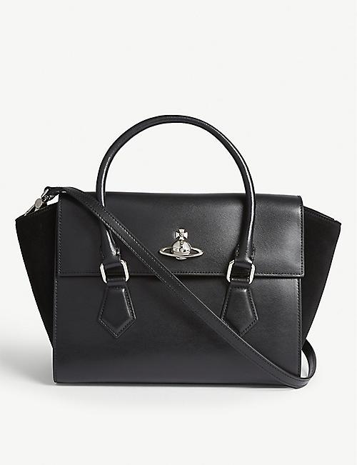 VIVIENNE WESTWOOD Matilda medium leather shoulder bag b6c4741d30