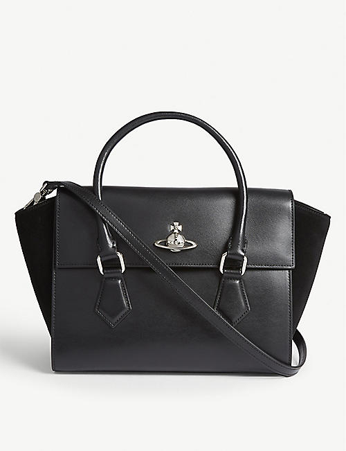 d5251365ba VIVIENNE WESTWOOD Matilda medium leather shoulder bag