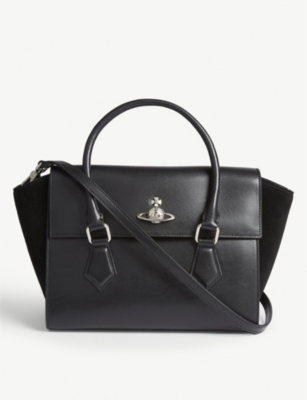 VIVIENNE WESTWOOD Matilda medium leather shoulder bag