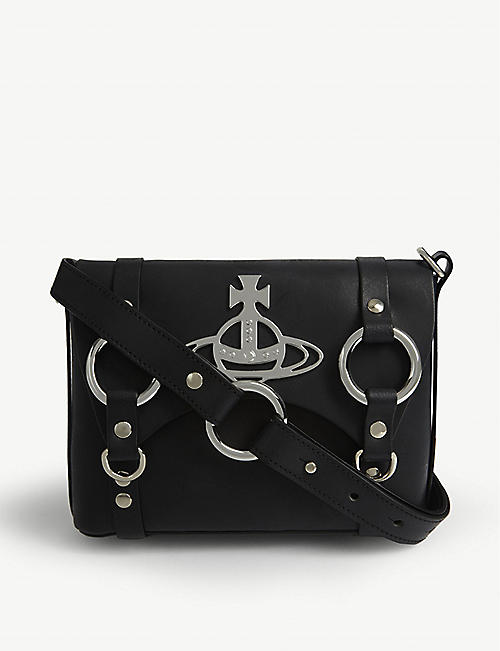 VIVIENNE WESTWOOD Betty Orb mini leather satchel