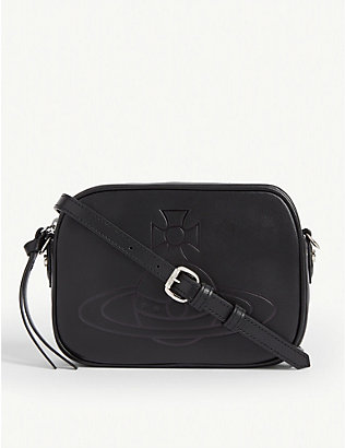 VIVIENNE WESTWOOD: Anna leather cross-body bag