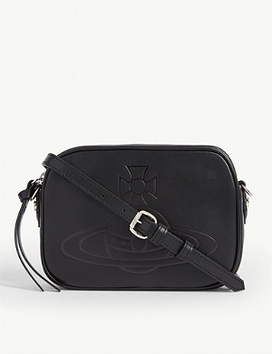 VIVIENNE WESTWOOD Anna leather cross-body bag