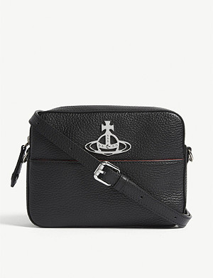 VIVIENNE WESTWOOD Rachel leather cross-body bag