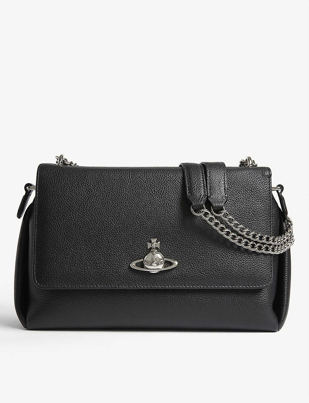 VIVIENNE WESTWOOD: Windsor leather shoulder bag
