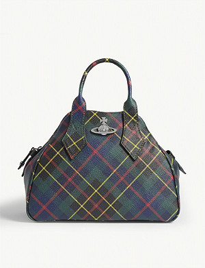 VIVIENNE WESTWOOD Yasmine Derby faux-leather handbag