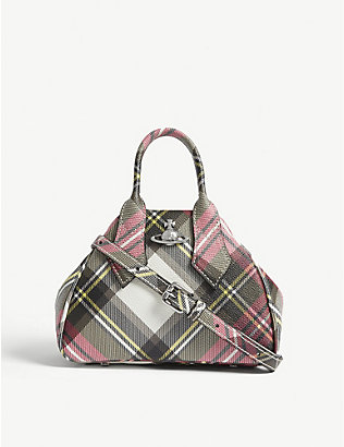 VIVIENNE WESTWOOD: Yasmine Derby faux-leather handbag