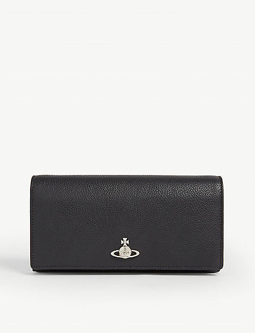 VIVIENNE WESTWOOD: Windsor leather wallet on chain