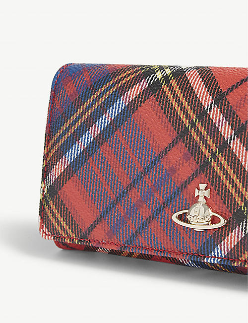 VIVIENNE WESTWOOD Derby credit card wallet