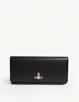 VIVIENNE WESTWOOD: Victoria classic leather wallet