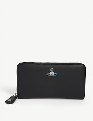 VIVIENNE WESTWOOD: Continental leather wallet