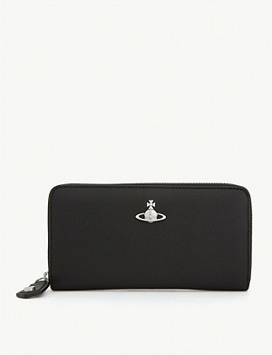 VIVIENNE WESTWOOD Victoria classic leather wallet