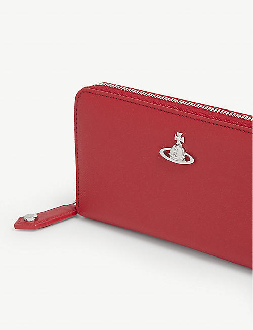 VIVIENNE WESTWOOD Windsor leather continental wallet