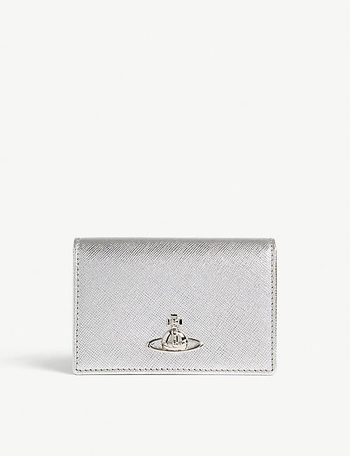 VIVIENNE WESTWOOD Leather Pimlico card holder