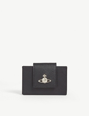 VIVIENNE WESTWOOD Pimlico leather card holder