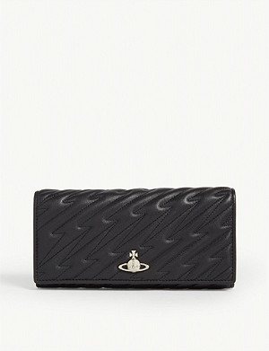 VIVIENNE WESTWOOD Coventry quilted leather wallet