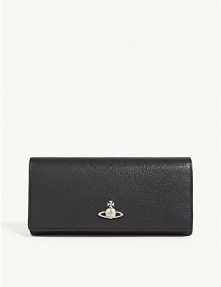 VIVIENNE WESTWOOD: Windsor leather continental wallet