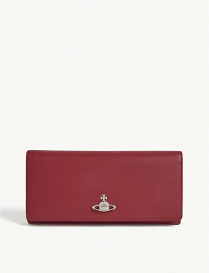 VIVIENNE WESTWOOD Florence leather wallet