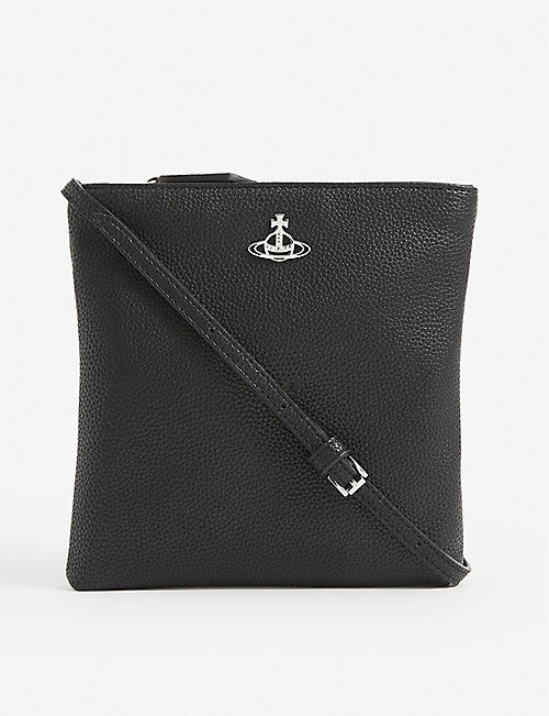 VIVIENNE WESTWOOD Victoria leather cross-body bag
