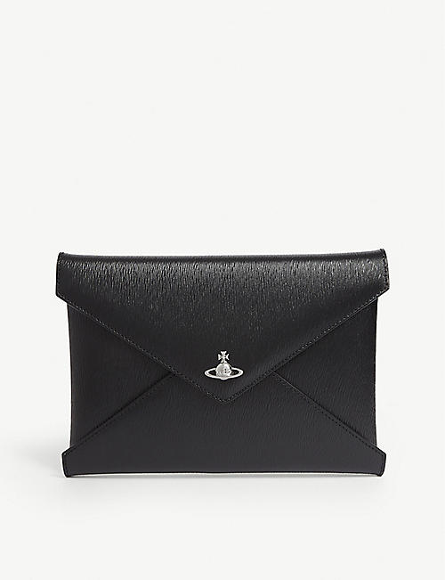 VIVIENNE WESTWOOD: Bella leather pouch