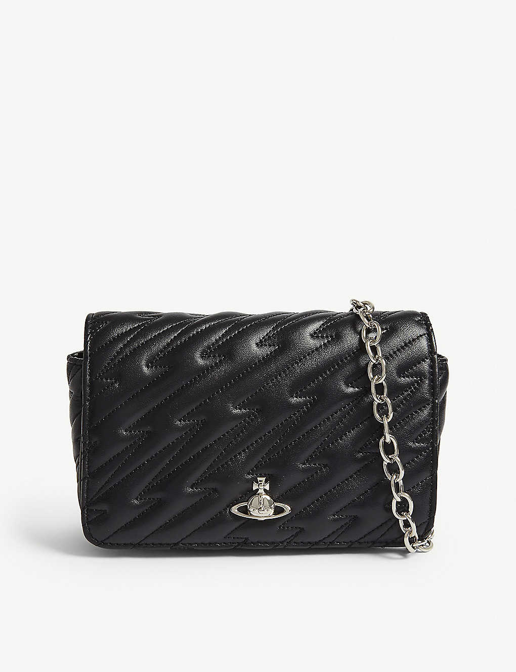 ab2e9def6f VIVIENNE WESTWOOD - Coventry quilted leather mini cross-body bag ...