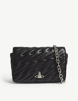 9e7ee90d1341 VIVIENNE WESTWOOD Coventry quilted leather mini cross-body bag