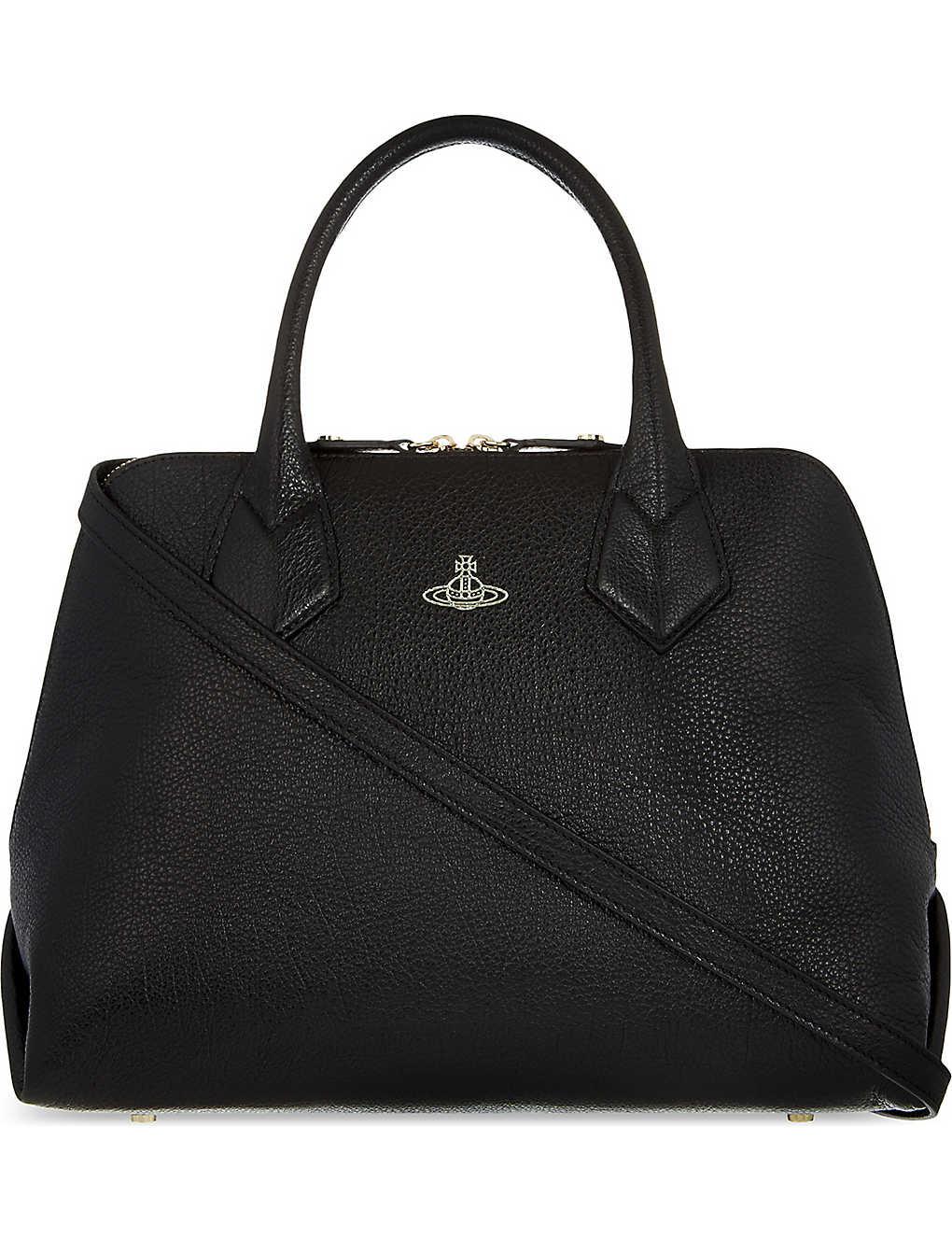 12170720eb VIVIENNE WESTWOOD - Balmoral leather shoulder bag | Selfridges.com