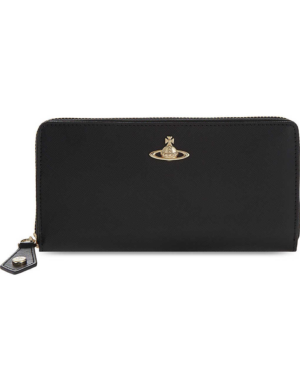 639b86b96d1 VIVIENNE WESTWOOD - Opio saffiano leather zip-around purse ...