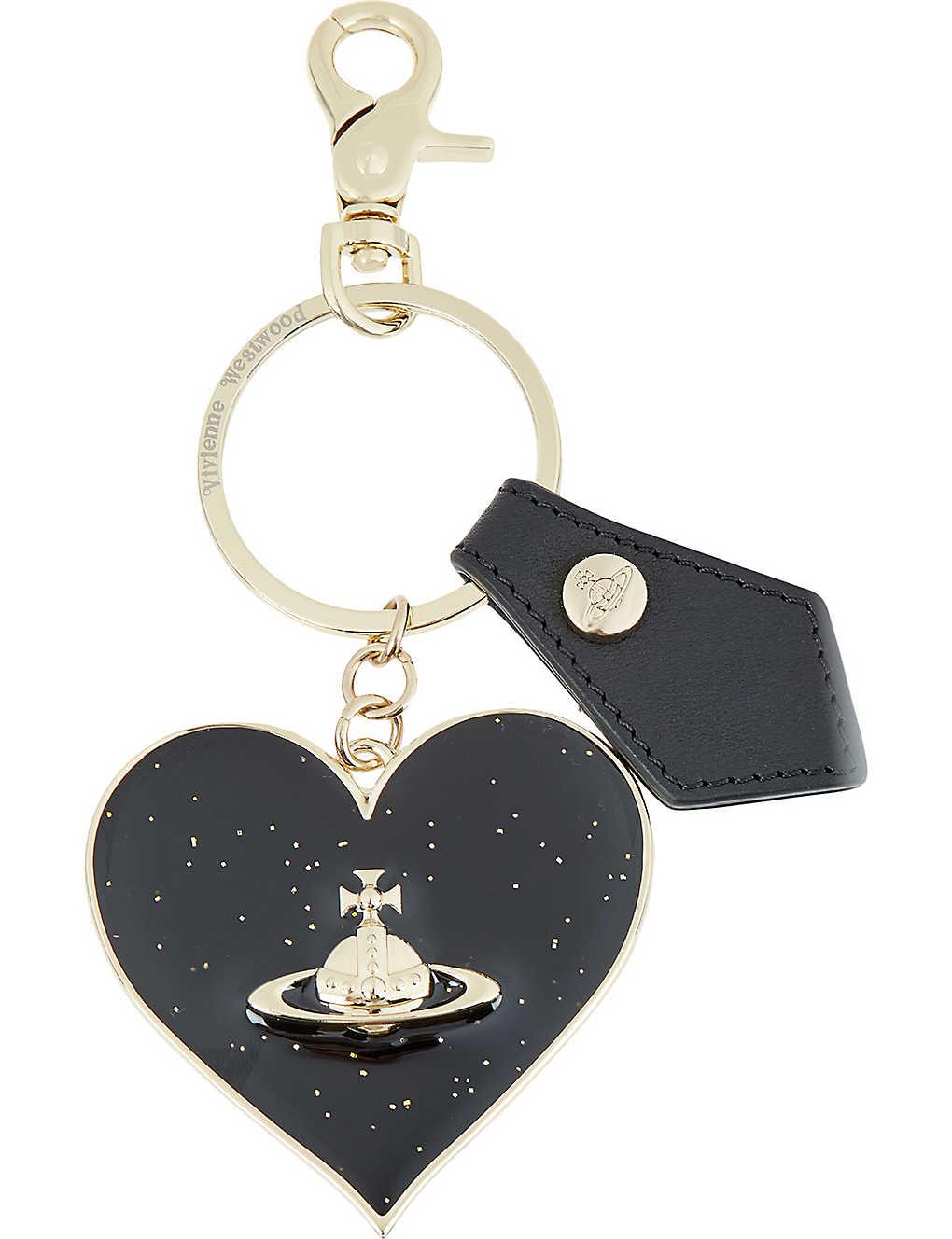 773c84cba5 VIVIENNE WESTWOOD - Gadget heart keyring   Selfridges.com