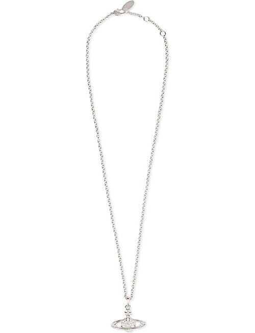 91351ecf8e8fb0 VIVIENNE WESTWOOD JEWELLERY Bas relief orb pendant necklace