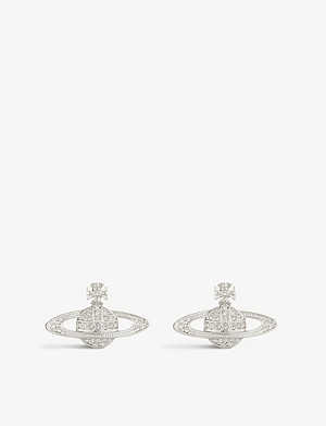 VIVIENNE WESTWOOD JEWELLERY Bas relief orb earrings