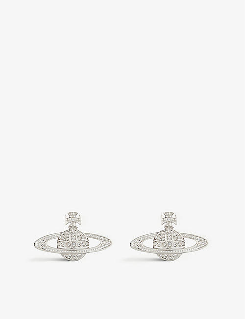 VIVIENNE WESTWOOD JEWELLERY: Bas relief orb earrings