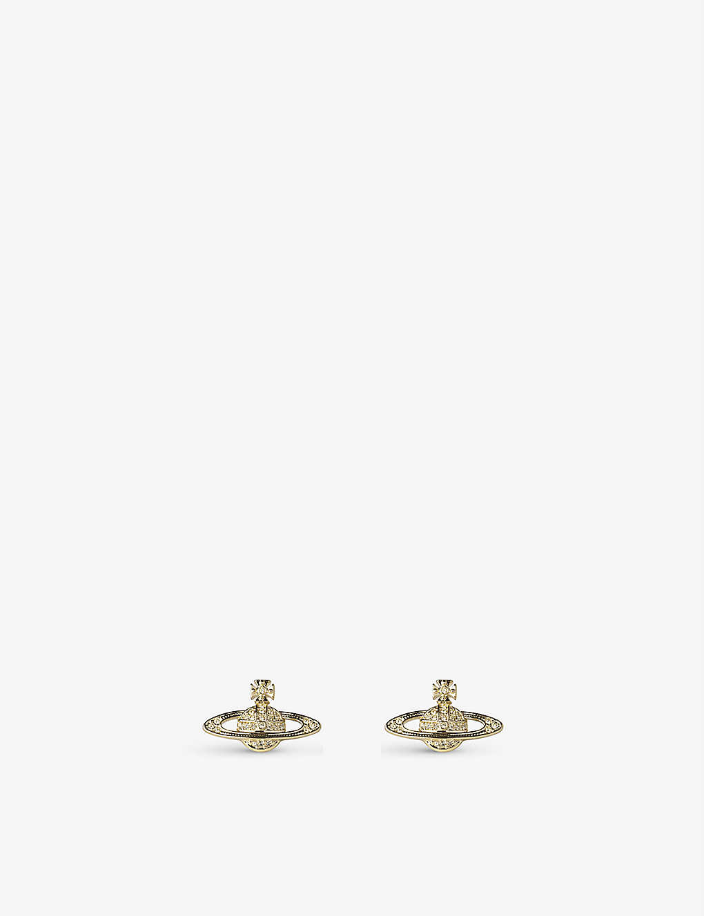 VIVIENNE WESTWOOD JEWELLERY: Bas Relief earrings jonquil