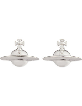 VIVIENNE WESTWOOD JEWELLERY: Solid orb earrings