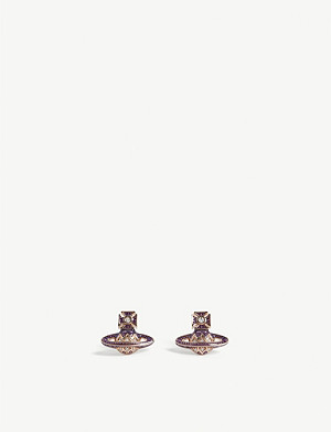 VIVIENNE WESTWOOD JEWELLERY Aretha bas relief earrings