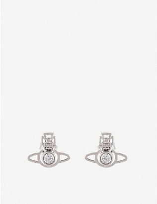 VIVIENNE WESTWOOD JEWELLERY: Nora orb earrings