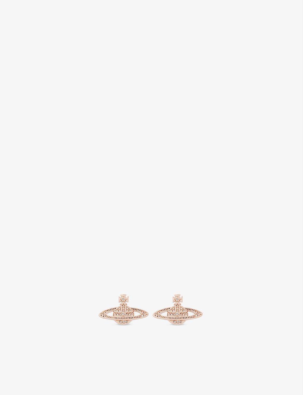 759c9ee9239 VIVIENNE WESTWOOD JEWELLERY - Mini Bas Relief diamante orb earrings ...