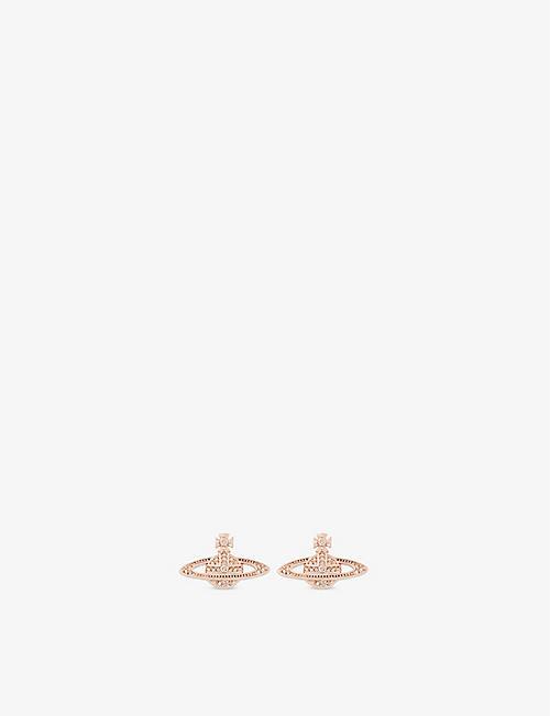 61449f91ab VIVIENNE WESTWOOD JEWELLERY Mini Bas Relief diamante orb earrings
