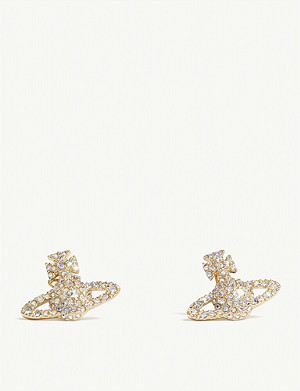 VIVIENNE WESTWOOD JEWELLERY Grace Bas Relief stud earrings
